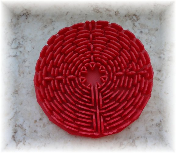 Labyrinth of Chartres 3D Print 28373