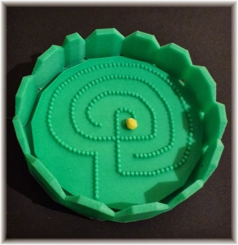 Labyrinthine ball game 3D Print 28383
