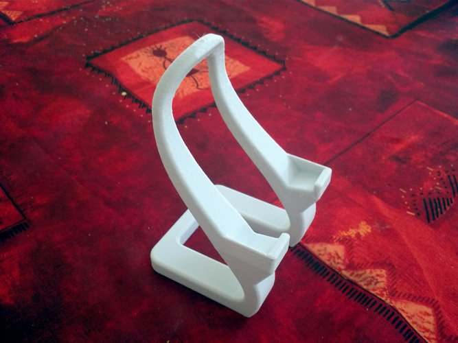 Artistic phone stand 3D Print 28384