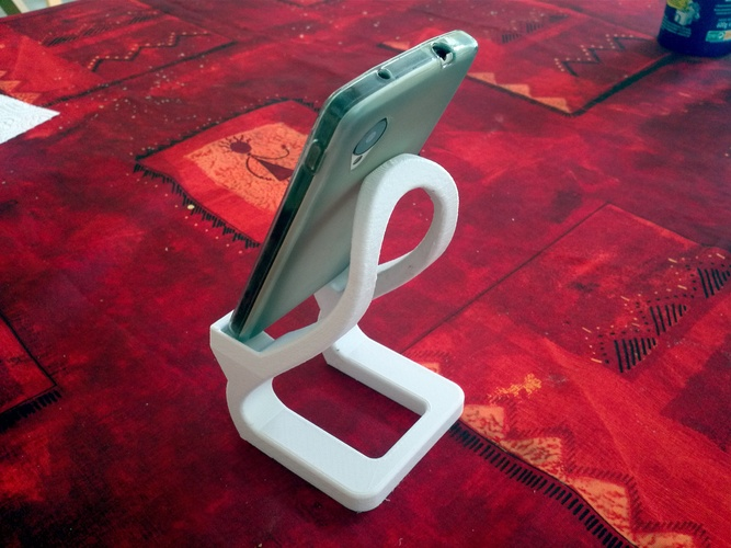 Artistic phone stand 3D Print 28385
