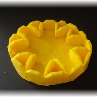Small Easter tray, labyrinthine designs 3D Printing 28387
