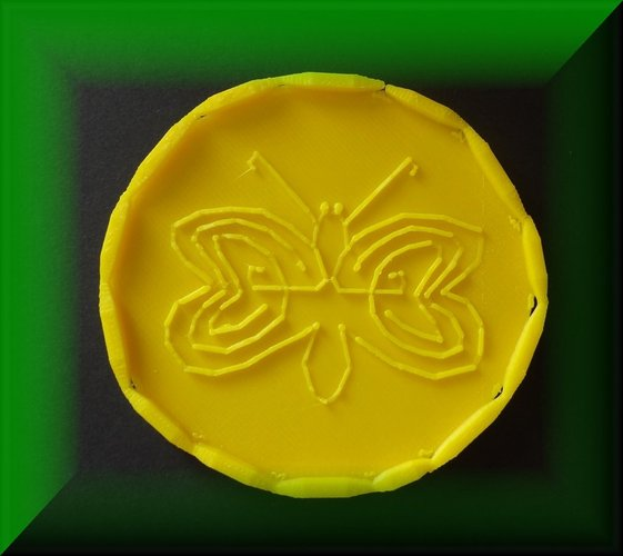 Easter tray, labyrinthine designs 3D Print 28390