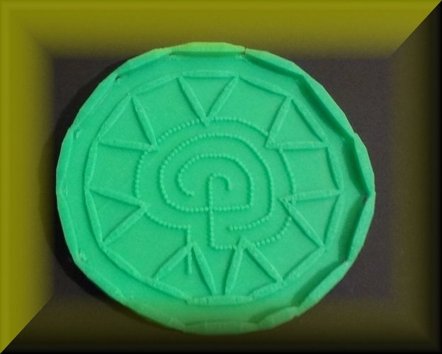 Easter tray, labyrinthine designs 3D Print 28391