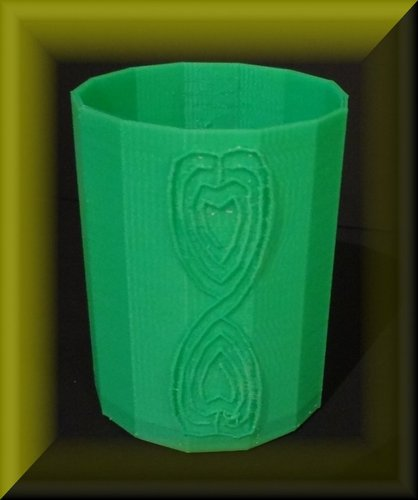 Easter tray, labyrinthine designs 3D Print 28392