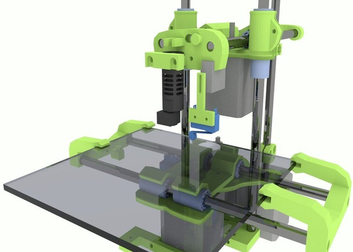 Buildplate for Smartrap  3D Print 28405