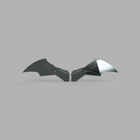 Small Robert Pattinson The Batman Chest Emblem 3D Printing 284111