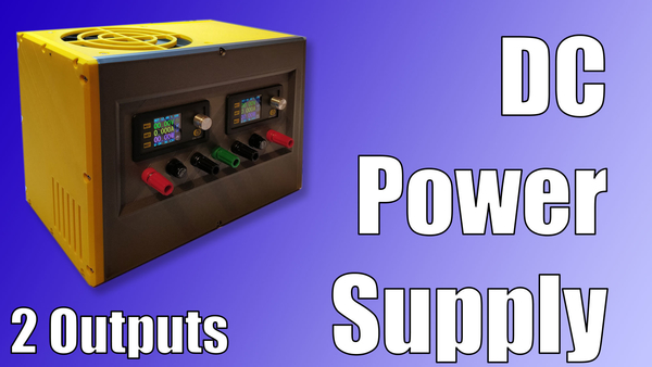 Medium Benchtop DC Power Supply with 2 adjustable outputs 3D Printing 284274