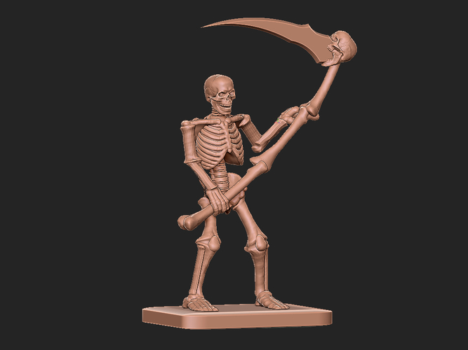Skeleton tribute to HeroQuest 3D Print 284461