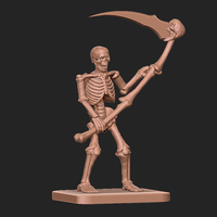 Small Skeleton tribute to HeroQuest 3D Printing 284461