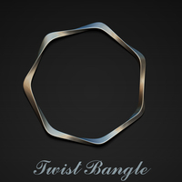 Small Twist Bangle 3D Printing 28450