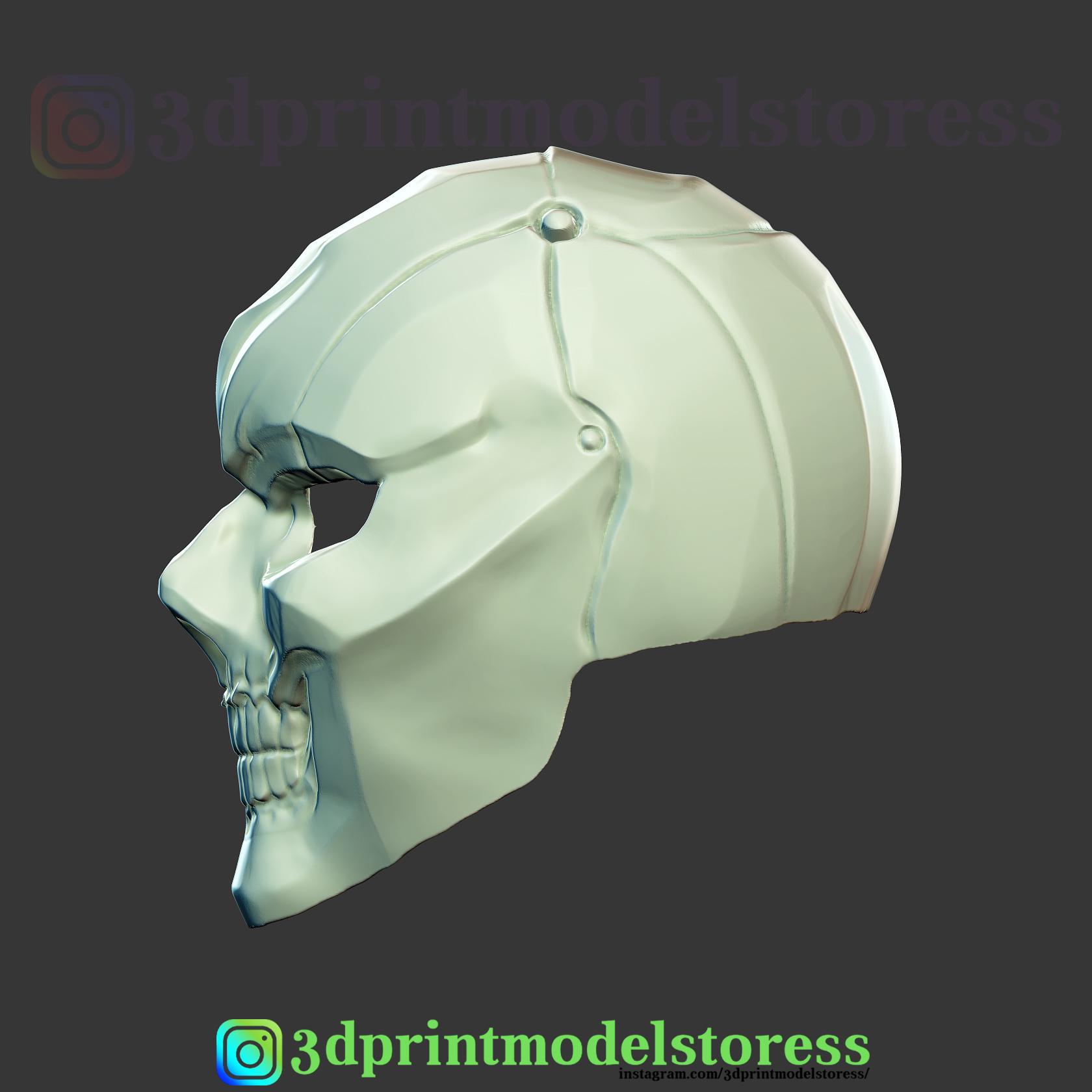 3d Printed Black Mask Harley Quinn Movie Cosplay Helmet By 3dprintmodelstore Pinshape