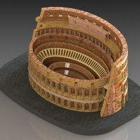 Small Colosseum 3D Printing 28477