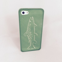 Small Mountain Brook Trout, iPhone 5/5s Case 3D Printing 28491