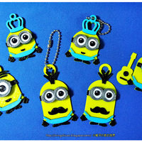 Small Minions Keychain / Magnets - Father's Day cute version 3D Printing 28494