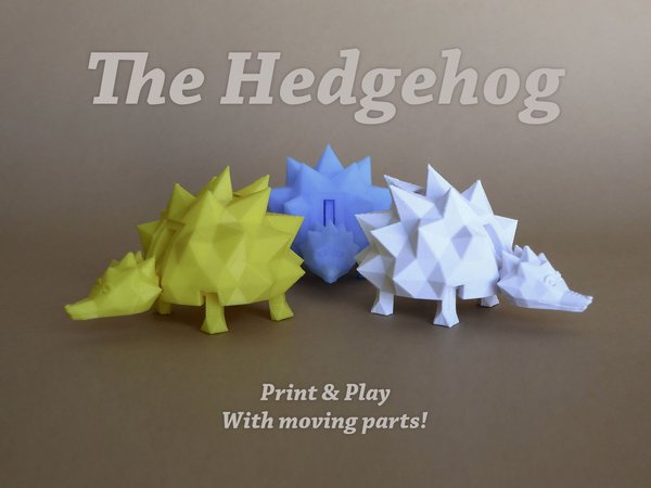 Medium The Hedgehog 3D Printing 28497