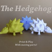 Small The Hedgehog 3D Printing 28497