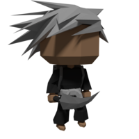 Small Low Poly Character 3D Printing 28529