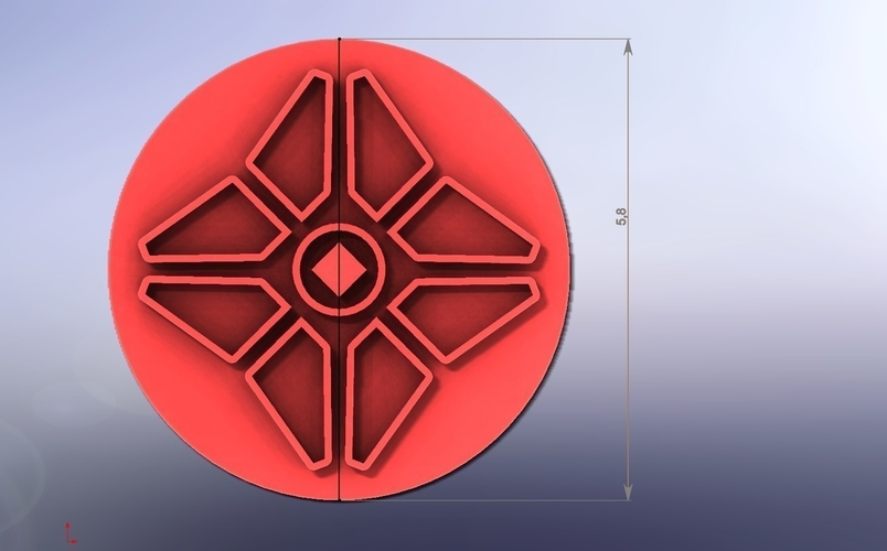 Cookie Cutters- Destiny-2 (2pcs) (Free) 3D Print 285317