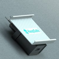Small Keepsafe Charger+Holder 3D Printing 28535