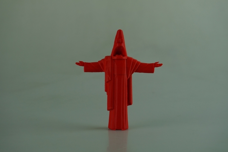 Suprised Christ the Redeemer 3D Print 28556