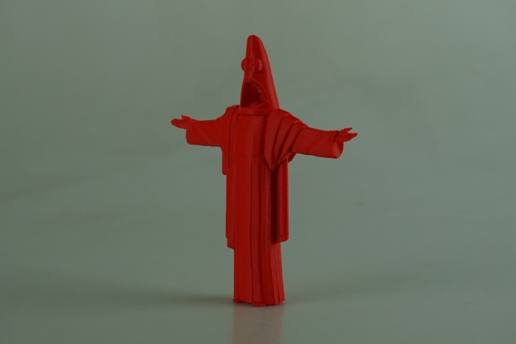 Suprised Christ the Redeemer 3D Print 28558
