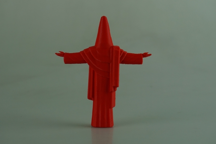 Suprised Christ the Redeemer 3D Print 28560