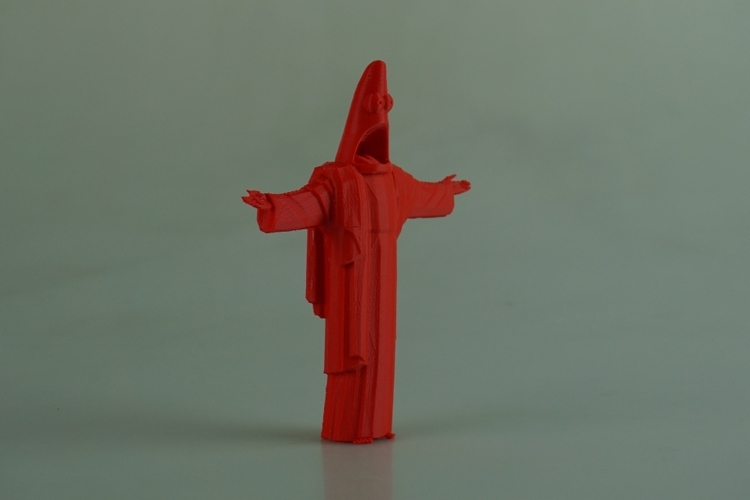 Suprised Christ the Redeemer 3D Print 28561