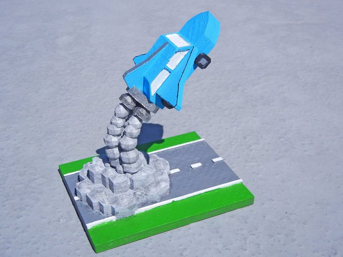 Road Trip to the Moon 3D Print 28582
