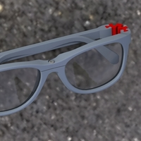 Small Sunglasses  3D Printing 285868