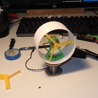 Small Ducted fan for small motors 3D Printing 286191