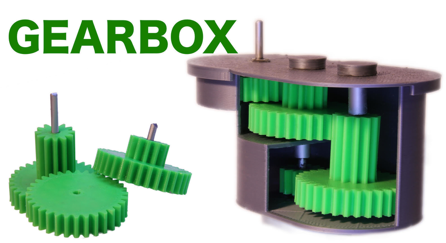 Universal GEARBOX 3D Print 286390