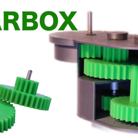 Small Universal GEARBOX 3D Printing 286390