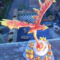Small Low Poly Phoenix 3D Printing 28672