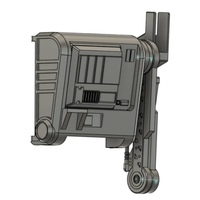 Small Star Wars - MAYFIELD BACKPACK v 1.0 - Hight Details for cosplay 3D Printing 286934