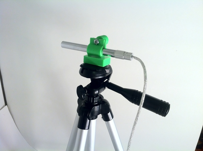USB Microscope Stage and Tripod Mount 3D Print 28718