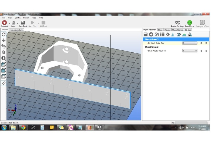 Measure Parts in STL Format with a Digital Ruler 3D Print 28727