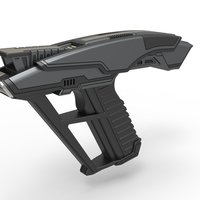 Small Starfleet Hand Phaser from Star Trek Picard TV series 3D Printing 287290