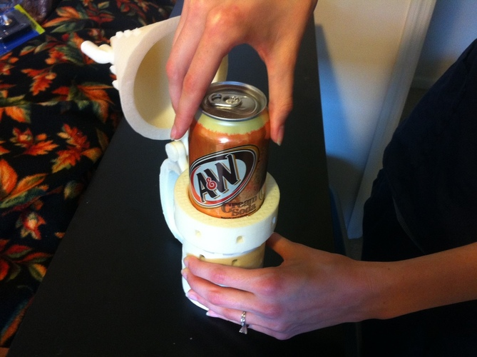 Harry Potter Inspired Butterbeer Stein 3D Print 28741