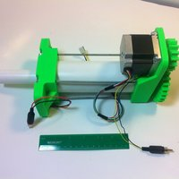 Small 3D Printed High Load Linear Actuator 3D Printing 28753