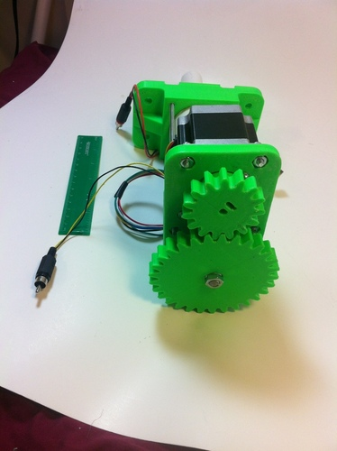 3D Printed High Load Linear Actuator 3D Print 28757