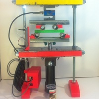 Small Prototype Load Testing Machine 3D Printing 28765