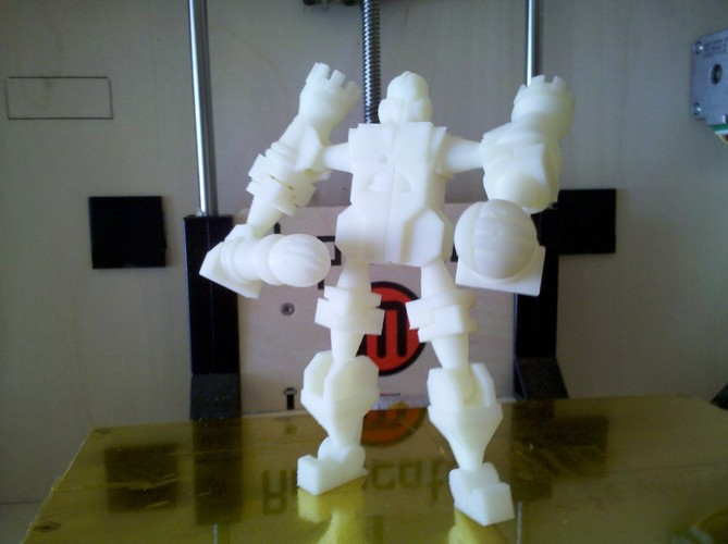 Chessbot Hero Transforming Chess Set 3D Print 2877