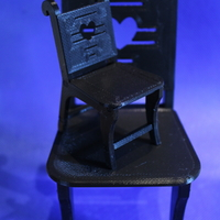 Small 1/12 and 1/6 Miniature chair 3D Printing 288118