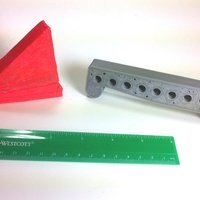 Small Sine Bars and Angle Block Set 3D Printing 28812
