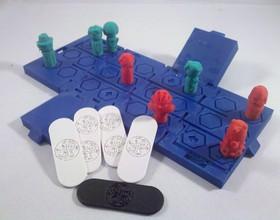TARDIS Run board game Print-In-One