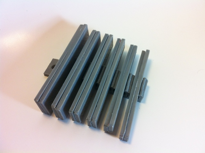 Parallels / Parallel Bar Set 3D Print 28830