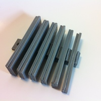 Small Parallels / Parallel Bar Set 3D Printing 28830