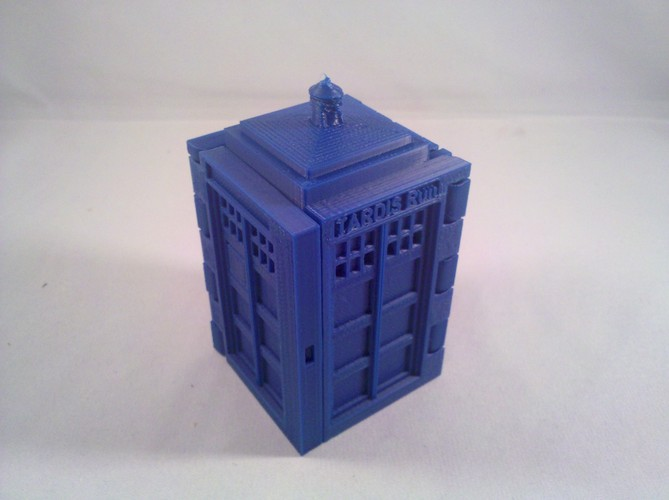 TARDIS Run board game Print-In-One 3D Print 2884