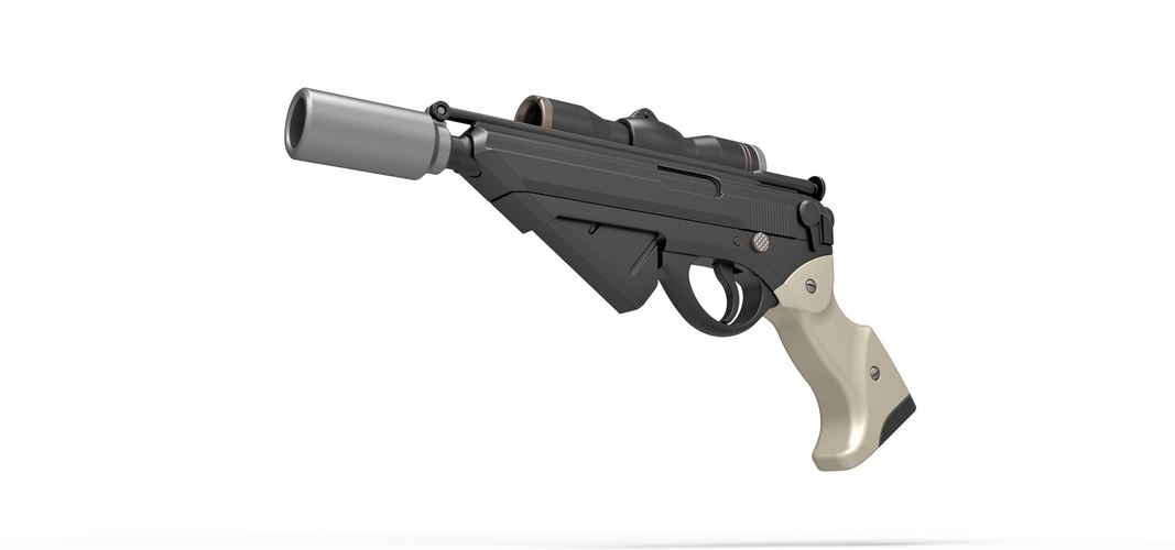 Blaster pistol Night Sniper X-8 from Star Wars 3D Print 288758