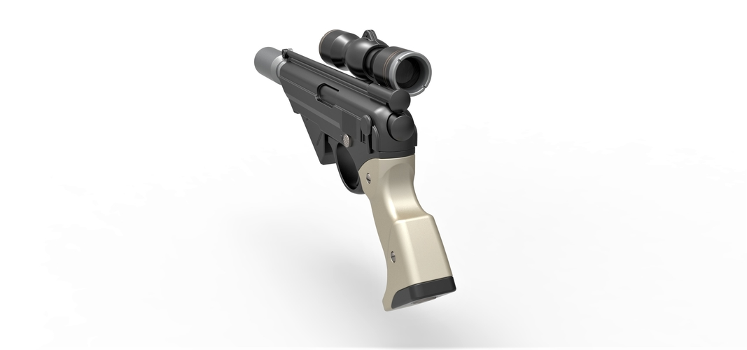 Blaster pistol Night Sniper X-8 from Star Wars 3D Print 288766